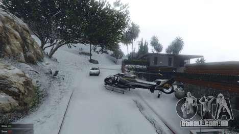 Singleplayer Snow 2.1 para GTA 5