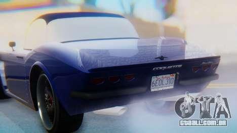 Invetero Coquette BlackFin v2 GTA 5 Plate para o motor de GTA San Andreas