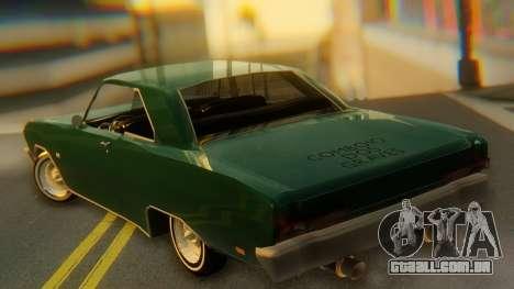 Dodge Dart Coupe para GTA San Andreas
