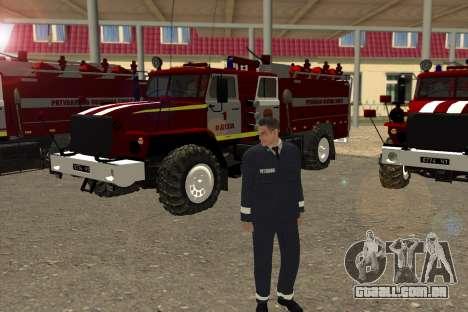 Equipes De Resgate Ucrânia para GTA San Andreas terceira tela