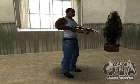 Royal Squad Shotgun para GTA San Andreas terceira tela