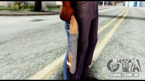 Shotgun from Resident Evil 6 para GTA San Andreas terceira tela