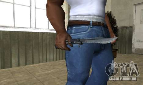Butterfly Knife para GTA San Andreas terceira tela