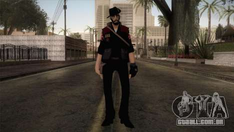 Christian Brutal Sniper from TF2 para GTA San Andreas segunda tela