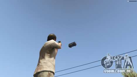 Gravity Gun 1.5 para GTA 5