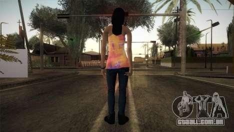 Alara Model Girl para GTA San Andreas terceira tela