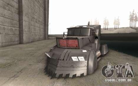 O Mad Max Caminhão para GTA San Andreas