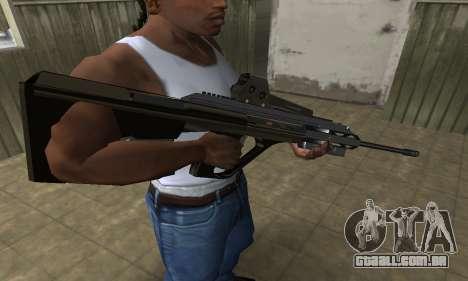 Brown AUG para GTA San Andreas