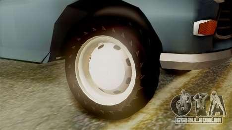 Peugeot 404 para GTA San Andreas traseira esquerda vista