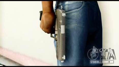 Pistol from Crysis 2 para GTA San Andreas terceira tela