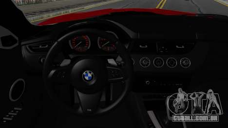 BMW Z4 sDrive35is 2011 2 Extras para GTA San Andreas vista interior