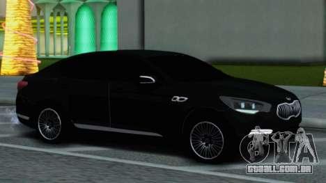 Kia Quoris para GTA San Andreas traseira esquerda vista