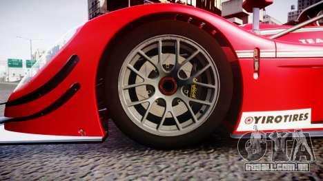 Radical SR8 RX 2011 [6] para GTA 4 vista de volta