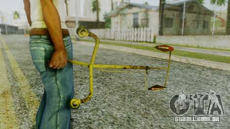 Infusion from Silent Hill Downpour para GTA San Andreas segunda tela