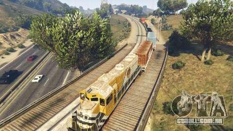 GTA 5 Railroad Engineer 3 sexta imagem de tela