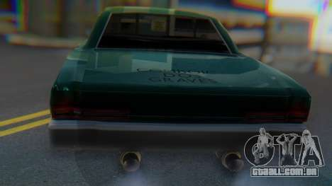 Dodge Dart Coupe para GTA San Andreas vista direita