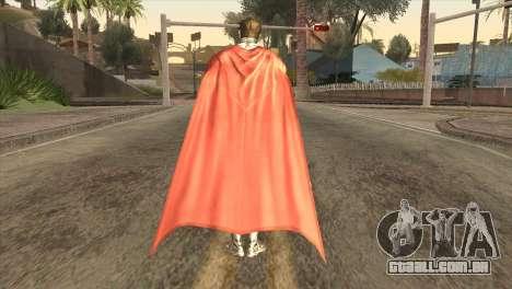 Superman Cyborg v2 para GTA San Andreas terceira tela
