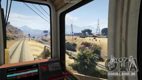 Railroad Engineer 3 para GTA 5
