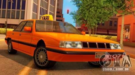 Taxi Intruder para GTA San Andreas