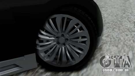 Truffade Adder Hyper Sport para GTA San Andreas traseira esquerda vista