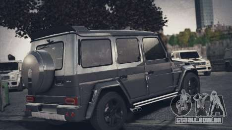 Mercedes-Benz G65 W463 para GTA 4 esquerda vista