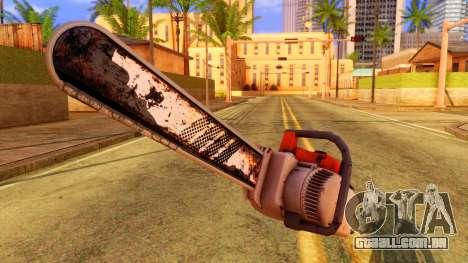 Atmosphere Chainsaw para GTA San Andreas