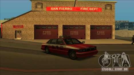 FDSA Premier Cruiser para GTA San Andreas esquerda vista
