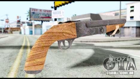 Shotgun from Resident Evil 6 para GTA San Andreas segunda tela