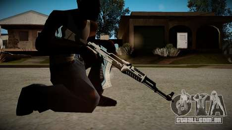 AK-47 Vulcan para GTA San Andreas terceira tela