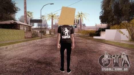 LMFAO Robot para GTA San Andreas terceira tela