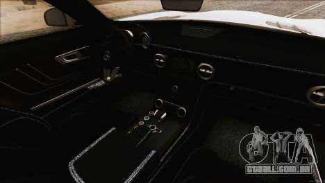 Mercedes-Benz SLS AMG 2013 para GTA San Andreas vista superior