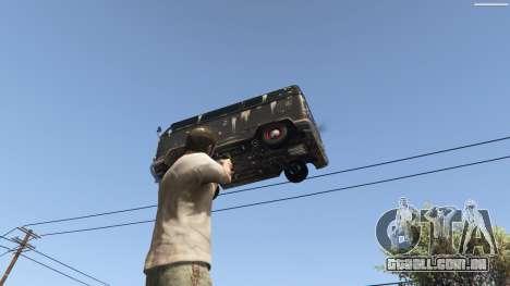 GTA 5 Gravity Gun 1.5 nono screenshot