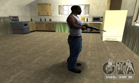 Full Black Rifle para GTA San Andreas terceira tela