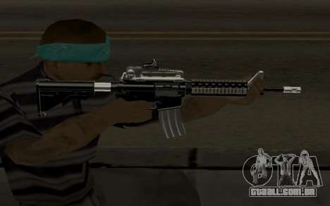 Weapon Pack para GTA San Andreas quinto tela
