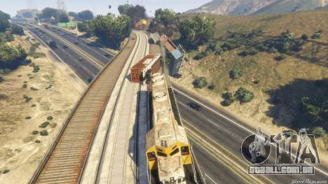 GTA 5 Railroad Engineer 3 décimo imagem de tela