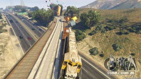 GTA 5 Railroad Engineer 3 nono screenshot