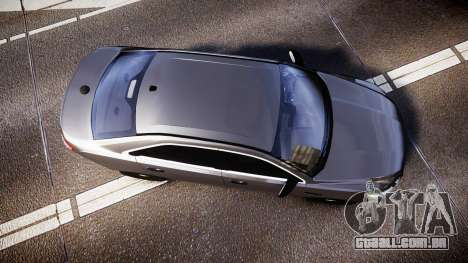 Ford Taurus 2010 Unmarked Police [ELS] para GTA 4 vista direita