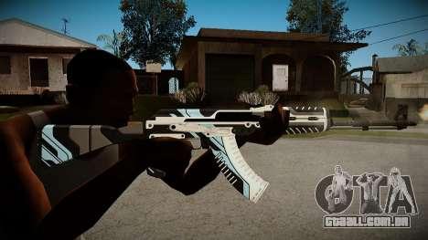 AK-47 Vulcan para GTA San Andreas segunda tela