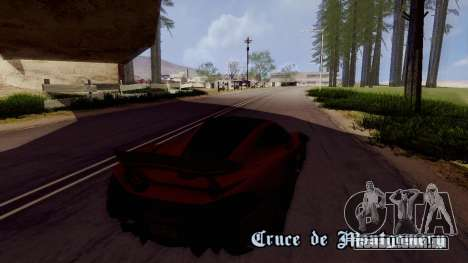 ENBTI for Low PC para GTA San Andreas por diante tela