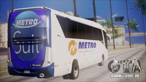 Marcopolo Metro Suit para GTA San Andreas esquerda vista
