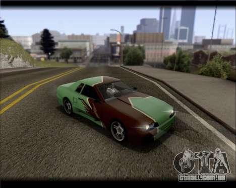 Elegy Hard Stunt para GTA San Andreas vista superior