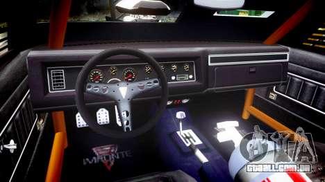 GTA V Imponte Duke O Death [HD Interior] para GTA 4 vista de volta