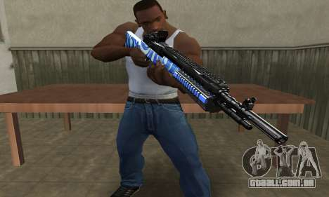 JokerMan Rifle para GTA San Andreas segunda tela