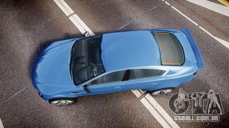 GTA V Ocelot Jackal new york plates para GTA 4 vista direita