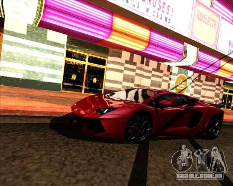 Jungles ENB v1.0 para GTA San Andreas por diante tela
