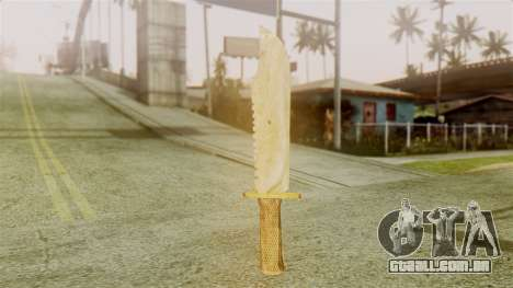 Red Dead Redemption Knife Legendary Assasin para GTA San Andreas segunda tela