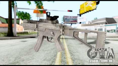 MP5 from Resident Evil 6 para GTA San Andreas segunda tela