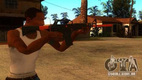 M4A1 Nitro para GTA San Andreas terceira tela