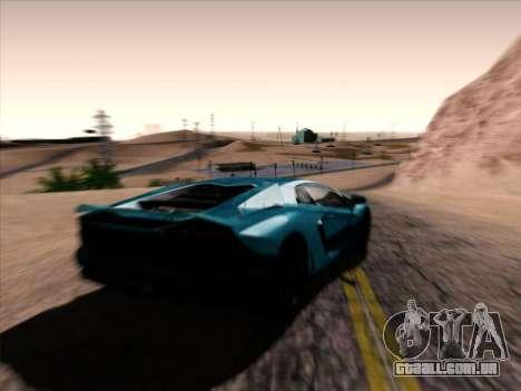Jungles ENB v1.0 para GTA San Andreas segunda tela