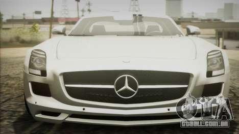 Mercedes-Benz SLS AMG 2013 para GTA San Andreas vista direita